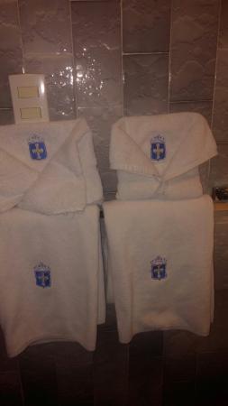 Hotel Del Principado: Las toallas muy viejitas y grises