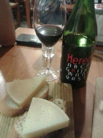 Bar Estudios: quesos
