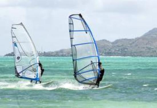 Trinidad and Tobago: Windsurfing in Tobago