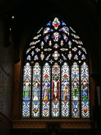 Christ Church Cathedral: stained glass
