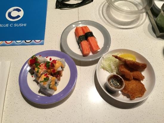Blue C Sushi: Simple to Specialty