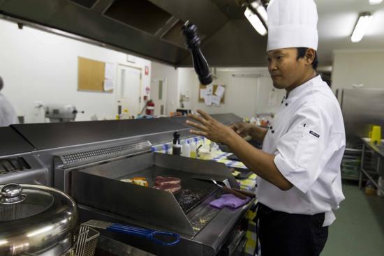 Crossroads  Hotel: The new Head Chef