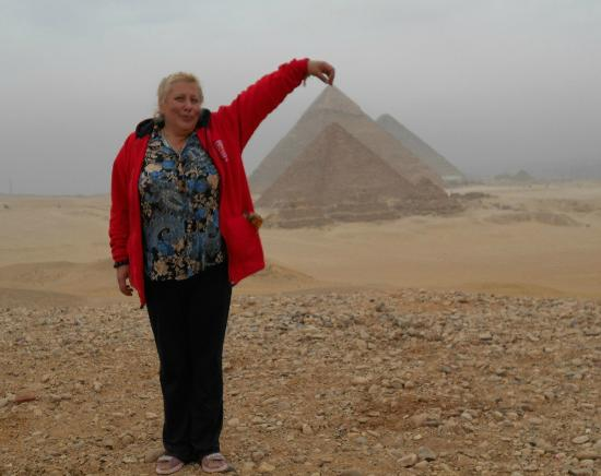 Dahab Safari Day Tours: Пирамиды - панорама из пустыни