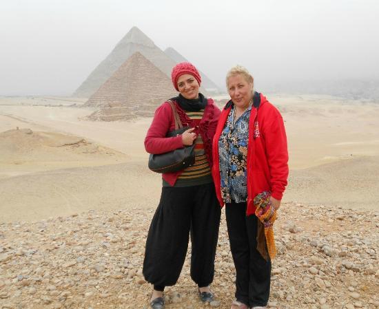 Dahab Safari Day Tours: я и моя гид Даша - отличное знание истории и языка