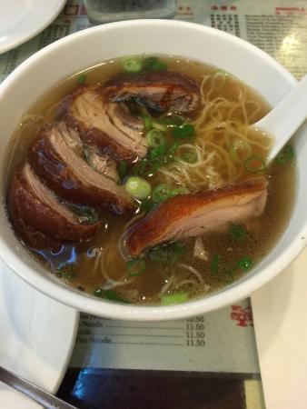 Great NY Noodletown : Soupe de nouilles canard et poulet