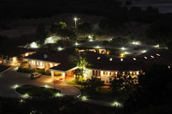 Casa Ceibo Boutique Hotel & Spa: HOTEL VISTA AEREA NOCHE