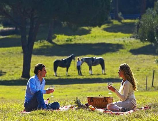 Umbria Hacienda Hotel Gourmet: Horseback riding