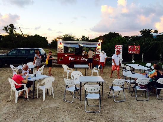 Chippy Antigua : Alfresco Dining