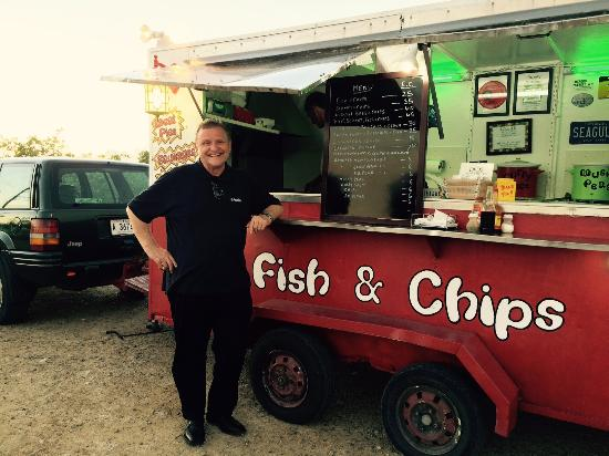 Chippy Antigua: Me waitin' for fish 'n chips