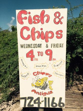 Chippy Antigua : Chippy info 2
