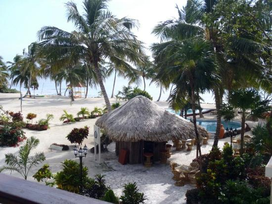La Beliza Resort: Our view from the room