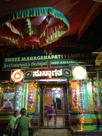 Gokarna, India: Decoration of Ganesh temple