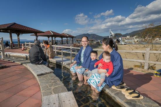 Iseya Ryokan : 日本一の足湯に一番近い宿です