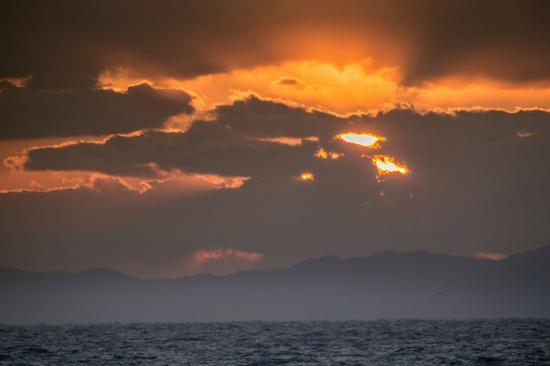 Iseya Ryokan : 美しい夕焼け