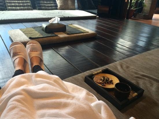 Villa.Like - Ren'ai: Post massage tea & biscuits
