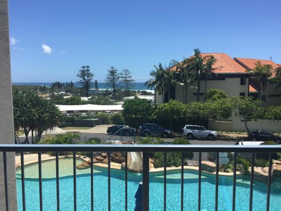 Coolum Beach, Australië: View from 1 bedroom unit