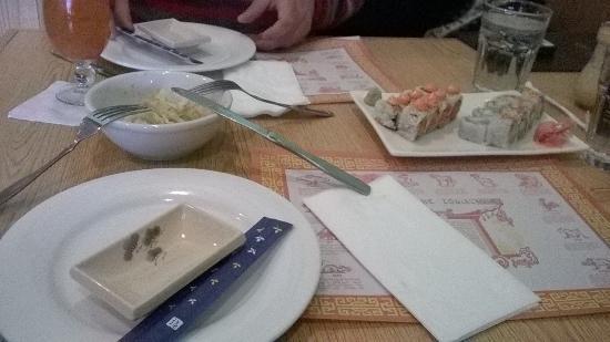 Tai San Chef: table setting