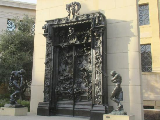 The Gates of Hell, Rodin Sculpture Garden, Stanford University, Stanford, Ca