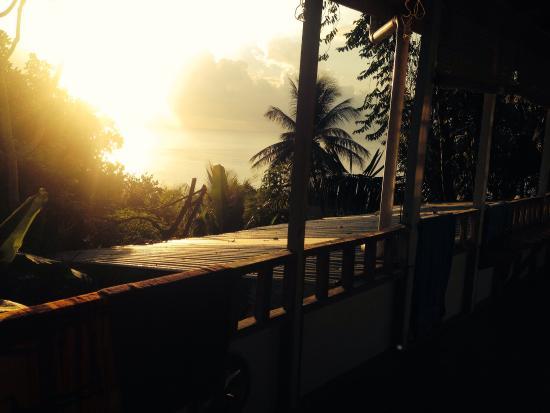 Luna Llena Hotel: La vue de notre grand balcon !
