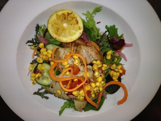 Deckchair Cafe: Fish of the day - Fresh Tarakihi