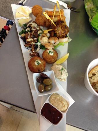 Deckchair Cafe: Seafood Platter