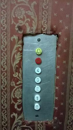 Hotel Byron: ascensore