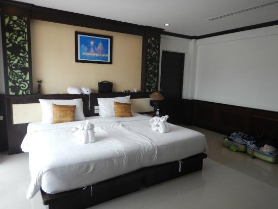 Aonang Orchid Resort: Vårt rum 2203