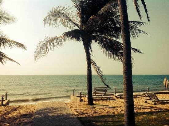 Hiep Hoa Resort : Aussicht aufs Meer