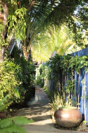 Sunset Beach Resort: Small motel tucked away amidst greenery