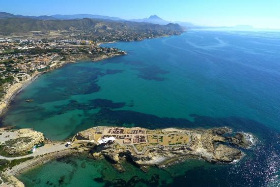 Кампелло, Испания: La Illeta dels Banyets en primer plano