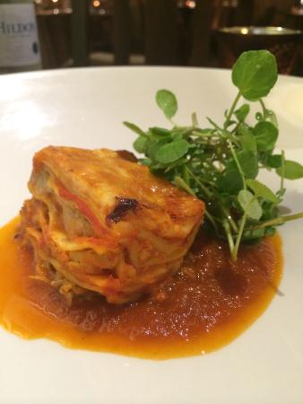 The Lamb at Angmering: Pulled Pork Lasagne