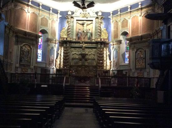 Altar of St Fructueux Itxassou