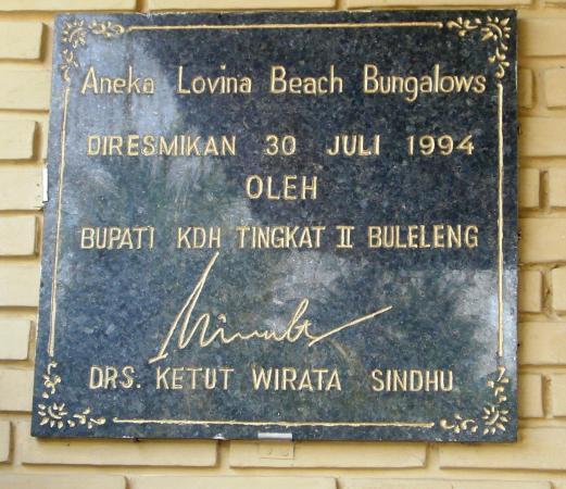 Aneka Lovina Villas & Spa: Aneka Lovina Beach Hotel