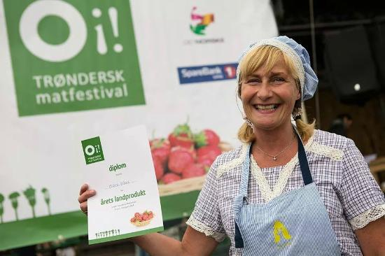 Pris for beste landprodukt Matfestivalen i Trondheim 2014, elg indrefilet