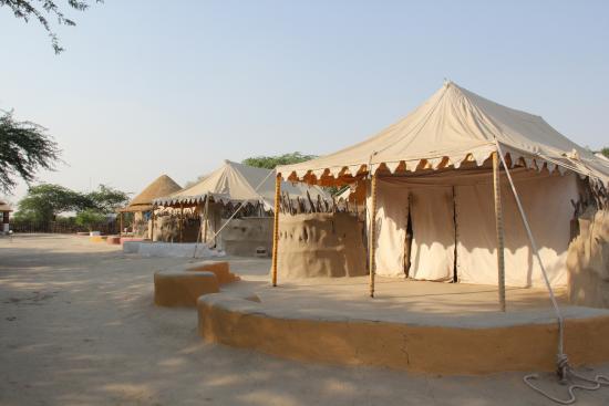 Shaam-e-Sarhad Village Resort Eco-friendly tents & Eco-friendly tents - Picture of Shaam-e-Sarhad Village Resort Hodka ...