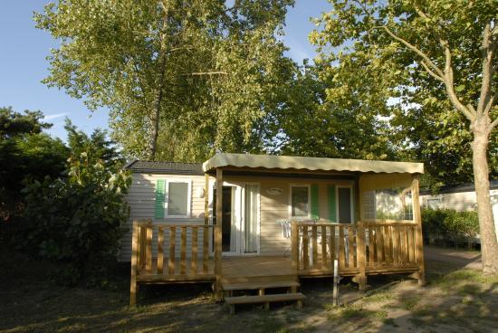 Camping les Bris: Mobil home