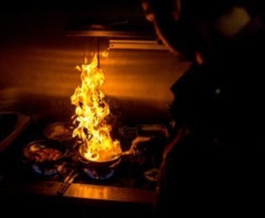 Shababs Balti Restaurant: Balti cooked fresh to order over a fierce flame