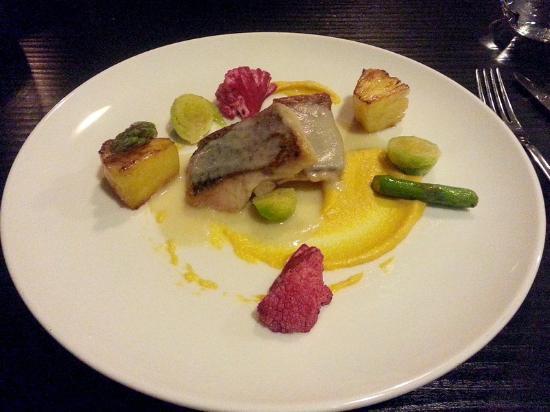 Three course menu with fish in Lauro lapas, Vilnius