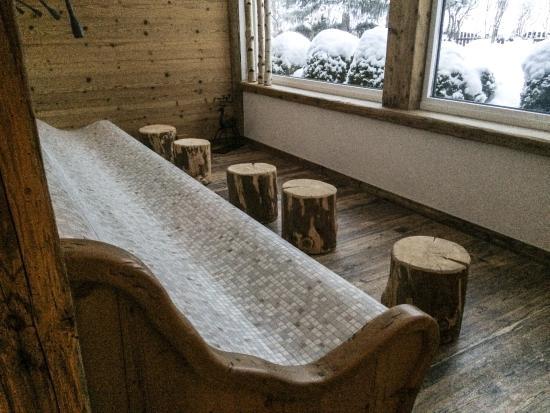 Aparthotel Landhaus St. Joseph: Relaxruimte Sauna