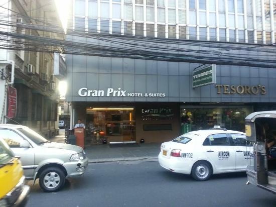 Gran Prix Hotel and Suites Manila : The Hotel in Mbini Road