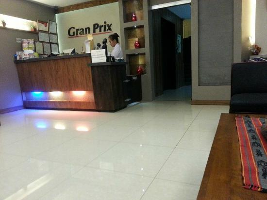 Gran Prix Hotel and Suites Manila : Lobby