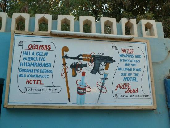 Burao, Somalia: Warning!
