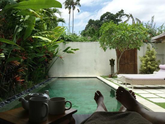 Villa Bali Asri Batubelig : Private Pool