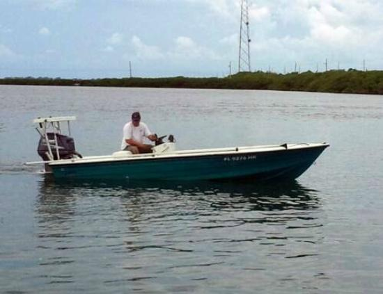 26 39 deck boat rental fl keys boat rentals islamorada for Fishing deck boats
