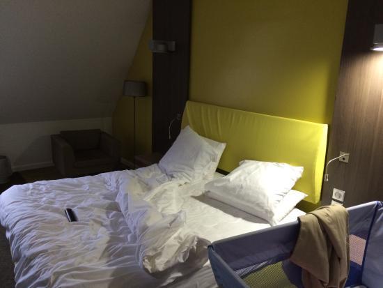 Chambre suite privilège avec lit king-size - Picture of Mercure ...