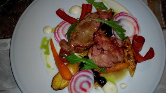Kolorowa Restaurant & Hotel: Lamb for lamb lovers.... . Great tasting dish with usual refinements as expected...