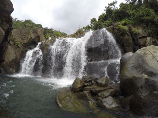 Naguabo, Puerto Rico: water fall