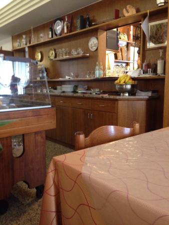 Trattoria Ponte di Ferro: Zona cucina