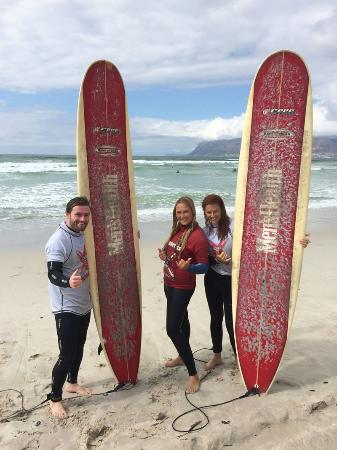 Learn 2 Surf Cape Town: Amber & Ben and Jodi
