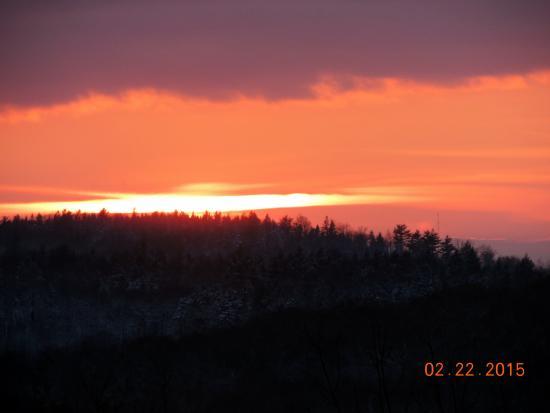 The Lucerne Inn: sunset